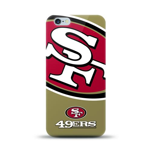 "iPhone 6/ 6S Plus 5.5"" Case, NFL Licensed [San Francisco 49ers] Protective Silicone TPU Case For Apple iPhone 6/ 6S Plus"