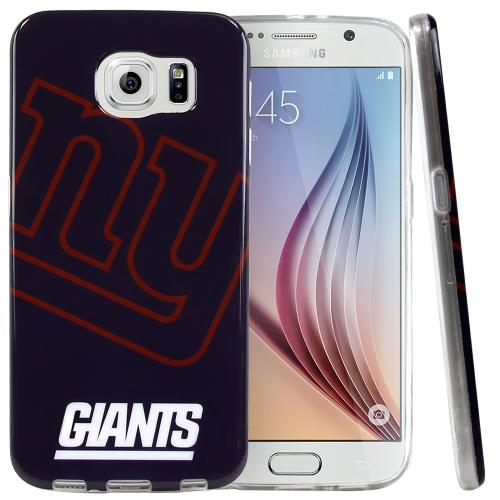 Galaxy S6 Case, NFL Licensed [New York Giants] Protective Silicone TPU Case For Samsung Galaxy S6