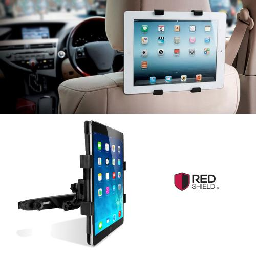 [Black] Headrest Car Mount Holder For Tablets, Tablet Car Seat Headrest