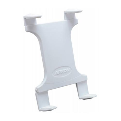 Arkon White Slim-Grip Tablet Holder - Universal Spring-Loaded Tablet Holder (Bulk)