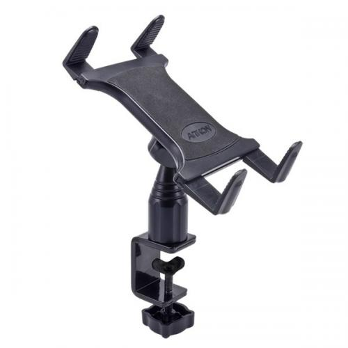"Arkon Black Tablet Mount Bundle - 4"" Adjustable Height C-Clamp Mount with Universal Tablet Holder (TAB001 + GN086-SBH)"