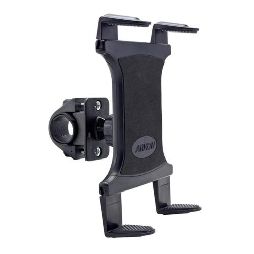 Arkon Black Tablet Mount Bundle - Boat Helm Pedestal Mount / Handlebar Mount (TAB001 + GN032-SBH)