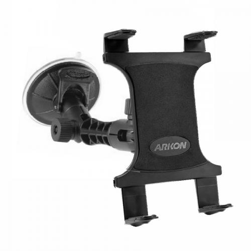 Arkon Black Tablet Mount - Universal Sticky Suction Mount with Modular Pedestal (TAB001 + MP098WD-2)