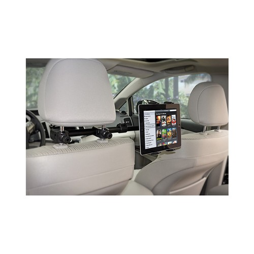 Arkon Black Deluxe Headrest Mount for Universal Tablets (like iPad w/ Retina Display & Nexus 10)