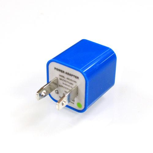 Blue Apple iPhone 3/ 4/ 5 USB Input Travel/ Home Wall Charger Adapter