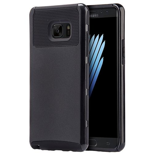 Samsung Galaxy Note 7 Case, REDshield Hard Cover on TPU Hybrid Dual Layer Case [Black]