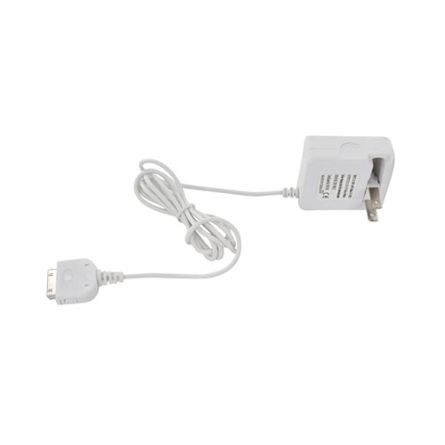 Universal Premium Apple iPad/ iPad 2 Travel Charger - White