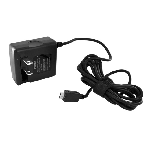 Premium Micro USB Travel AC Wall Charger - Black