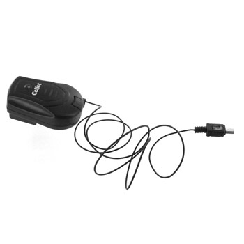 Retractable Mini USB Type Travel Charger