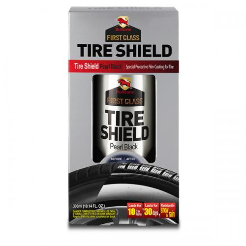 Bullsone First Class Tire Shield [Pearl Black] Creates special high gloss protective film for tire!