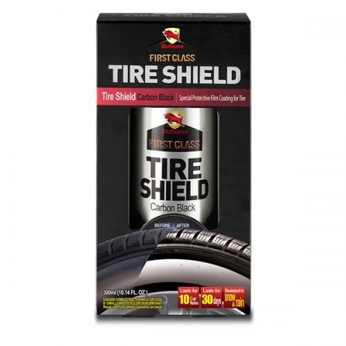 Bullsone First Class Tire Shield [Carbon Black] Creates special high gloss protective film for tire!