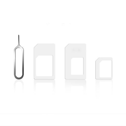 SIM Card Adapter Kit w/ Standard, Micro, Nano Card Adapters