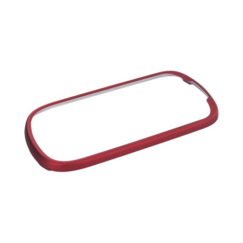 Original T-Mobile Samsung Gravity Smart Rubberized Hard Case - Red