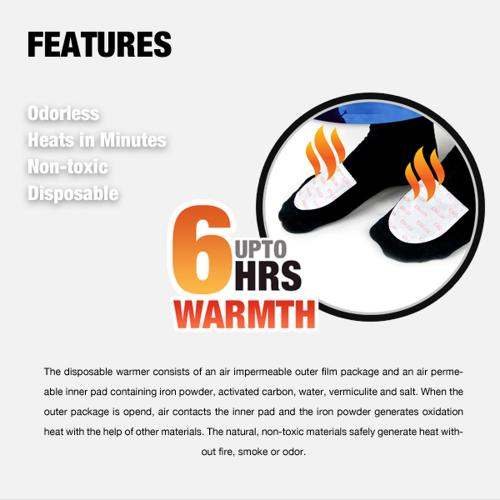 Owlheat [toe Warmer - 10 Pack / 20 Pieces] Disposable Adhesive Self Heating Toe Warmers - Up To 60 Hours Of Total Warmth! They Heat Up In Seconds