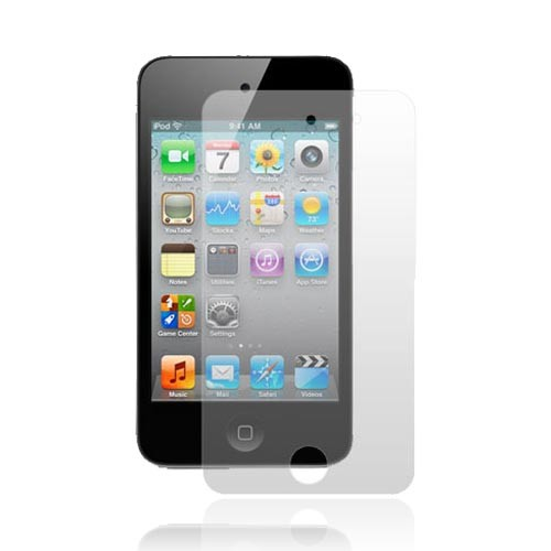 Apple iPod Touch 4 Essential Bundle Package w/ Premium UV Coated Slim White Hard Back Cover, Anti-Grease Screen Protector, & White Travel Charger