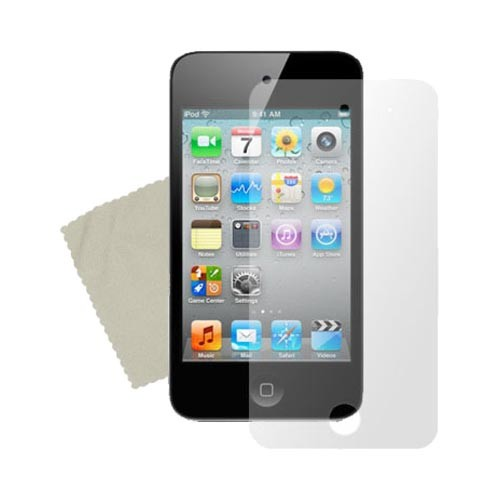 Apple iPod Touch 4 Medley w/ Premium, Anti-Grease and Mirror Screen Protectors