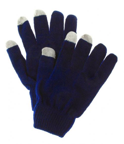 Touchscreen Gloves for Smartphone, Texting Gloves - Unisex [Blue/ Gray]