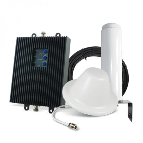 SureCall TriFlex-T | 3G/4G Tri-Band 65db Cellular Signal Booster Kit for Home/Office (up to 6,000 feet) [ T-Mobile AWS ] - FCC Approved!