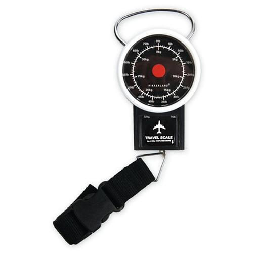 Kikkerland Travel Luggage Scale [Up to 70lbs/ 32kg]