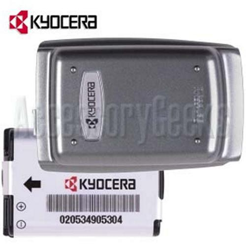 Original Kyocera KX160 Dark Silver Battery and Door
