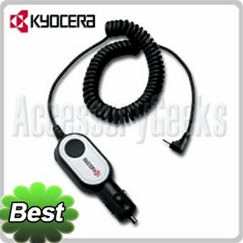 Original Kyocera Car Charger (KX440 type) - TXCLA10016