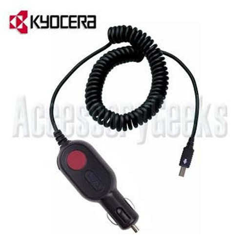 Kyocera Original Premium Vehicle Charger, TXCLA10048 (KX13 Type)