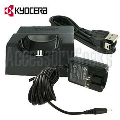 Original Kyocera Black Music Dock - TXDTC10047