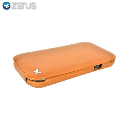 Original Zenus Samsung Captivate i897 E'stime Leather Case Folder Series - Camel Brown