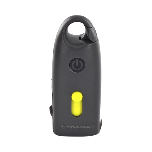 Original Technocel Universal Micro-USB Battery Pack (600 mAh) w/ MicroSD Reader, UV9BB - Gray/ Yellow