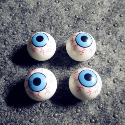 Auto Motorcycle Wheel Valve Cap [Eye Ball] 4-Pack