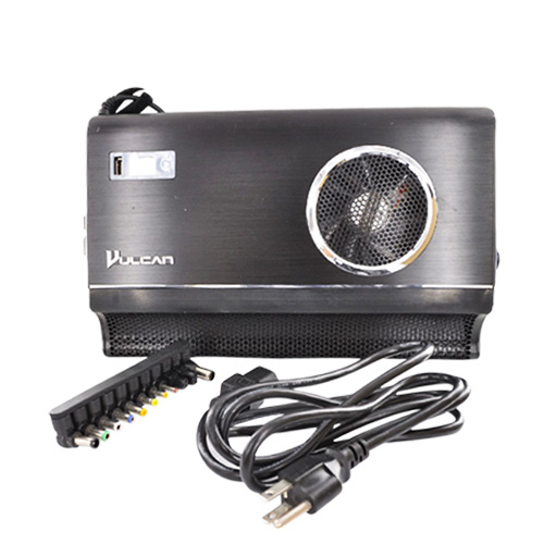 Original Vulcan Universal Notebook Cooling and Power Station w/ 11 Adapter Tips, VCPS102 - Black