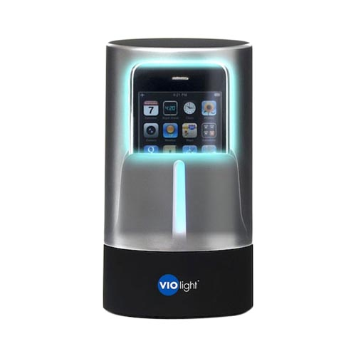 VIO Light UV Universal Cell Phone, MP3 Players, Bluetooths, Headphones, & Hearing Aid Device Sanitizer (Kills 99.99% Germs for iPhone 5/5S, & MORE!)