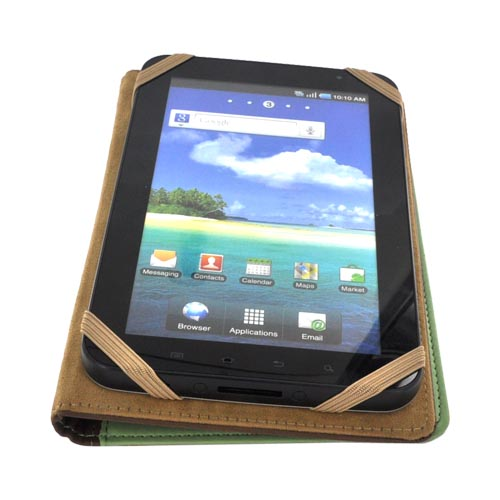 Original LightWedge Verso Artist Series E-Reader Cover Case, VR008-952-23 - Green/ Brown Typewriter