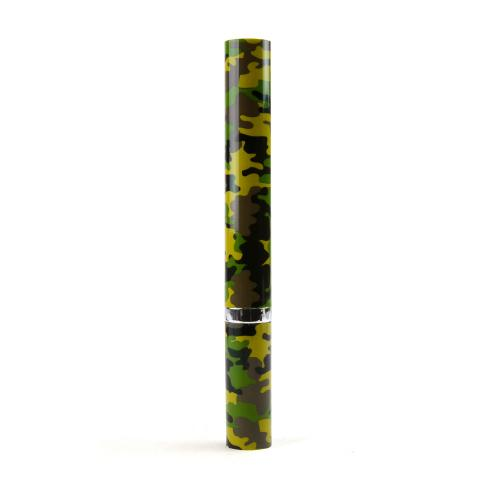 Violife Green Camo Design Slim Sonic Portable Sonic Toothbrush w/ Extra Replacement Brush - VS2T586