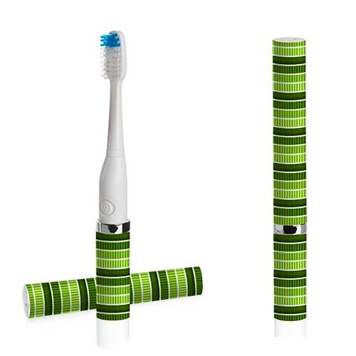 Violife [Spearmint] Slim Sonic Portable Toothbrush w/ Extra Replacement Brush - VSS155