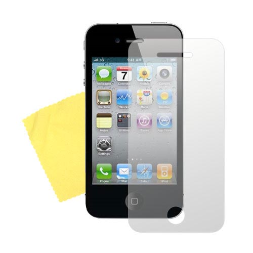 AT&T / Verizon iPhone 4, iPhone 4S Essential Bundle w/ 100% Wood Case, Screen Protector and Travel Charger