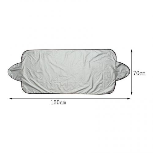 Magnetic Windshield Snow Cover - Ice Sun Frost and Wind Proof in All Weather, Fits for Most Vehicles, Comes With Storage Pouch