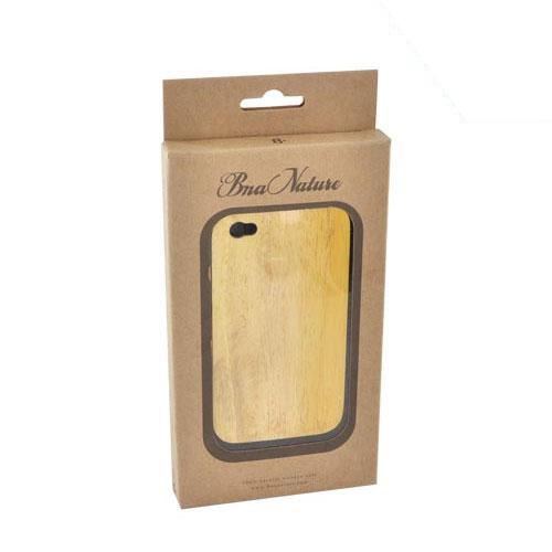 Exclusive TPhone Eco-Design Apple Verizon/ AT&T iPhone 4, iPhone 4S 100% Hard Back Cover Case - Jack Fruit Wood - XXIP4