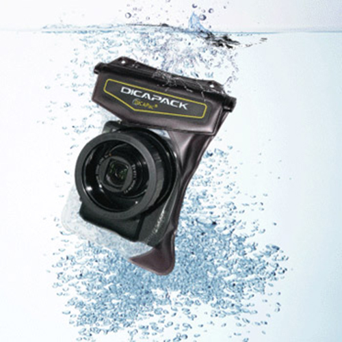 DICAPac WP-610 High-End Waterproof Digital Camera Case for Cameras w/ Zoom Lens