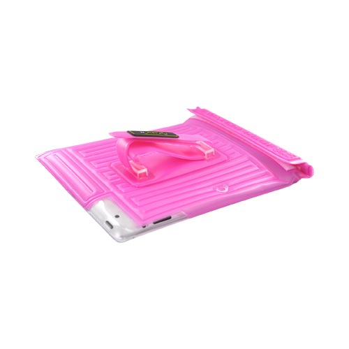 Original DiCAPac Apple iPad (All Gen.) Waterproof Case w/ Handle & Stand, WP-i20 - Pink