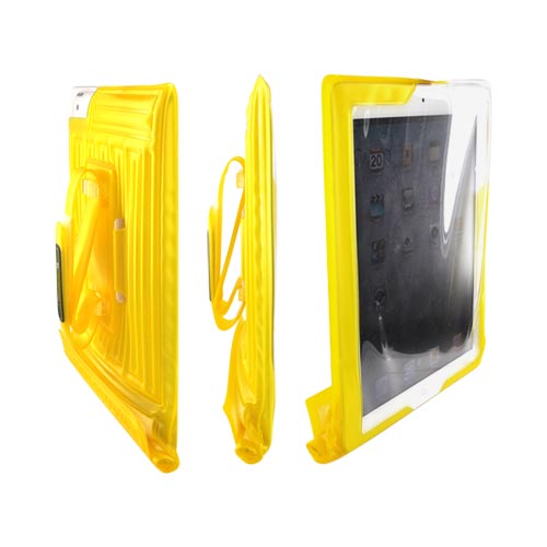 Original DICAPac Apple iPad (All Gen.) Waterproof Case w/ Handle & Stand, WP-i20 - Yellow