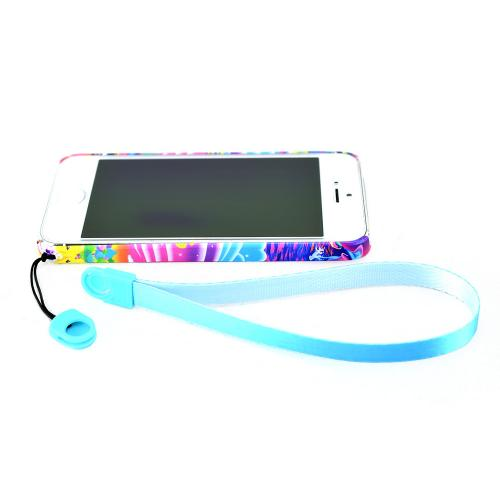 Universal Cell Phone Wrist Strap/ Lanyard (6 Inches) - Sky Blue