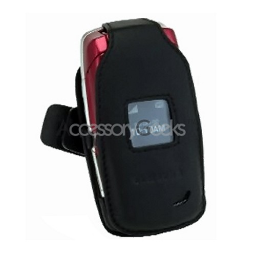 Original Samsung T219 Leather Case - Black