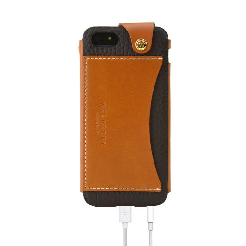 Apple iPhone SE / 5 / 5S  Case, Wetherby [Dark Brown]  Premium Bar Series Handcrafted Leather Case w/ ID Slot