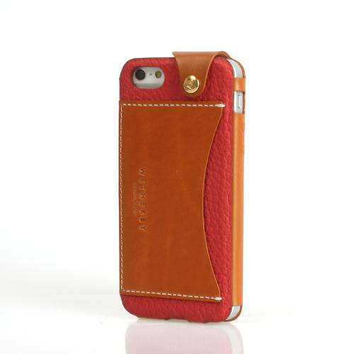 Apple iPhone SE / 5 / 5S  Case, Wetherby [Red]  Premium Bar Series Handcrafted Leather Case w/ ID Slot