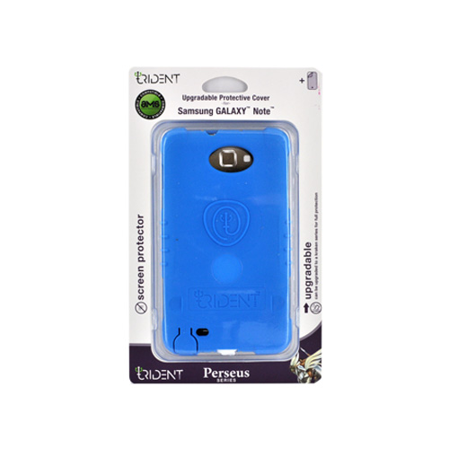 Trident Perseus Samsung Galaxy Note Impact-Resistant Silicone Case - Blue