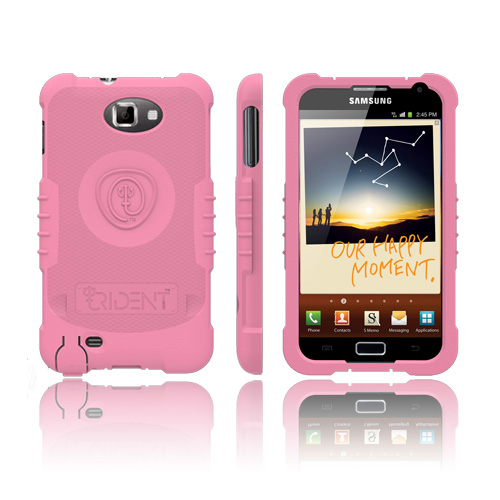 Trident Perseus Samsung Galaxy Note Impact-Resistant Silicone Case - Pink