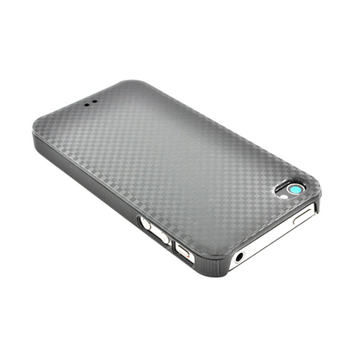 Original Luxmo Platinum Lux Jacket AT&T/ Verizon Apple iPhone 4, iPhone 4S Hard Case w/ Screen Protector - Black Checker
