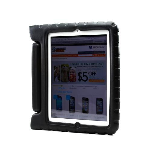 Black Ziotek Impact-Resistant Foam Bump Case w/ Handle for iPad 2/3/4