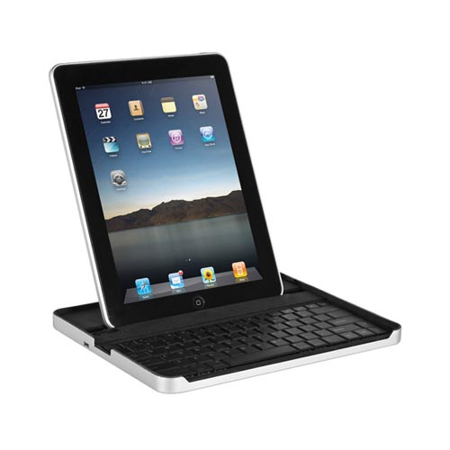 Apple iPad (1st Gen) 1st ZAGG Mate Wireless Bluetooth Keyboard and Case - Silver,Black